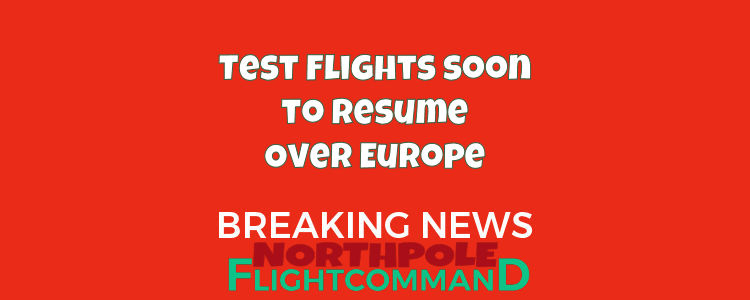 Test Flights Over Europe