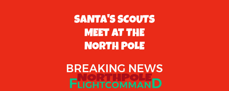 Santa instructs Scouts