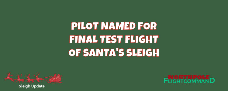Test Flight Pilor