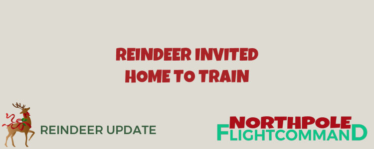 Reindeer Invited Home